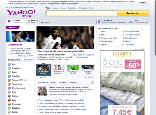 Yahoo_フランス