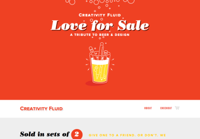 creativity-fluid-ビール-泡-スクロール-レスポンシブWebデザイン_001