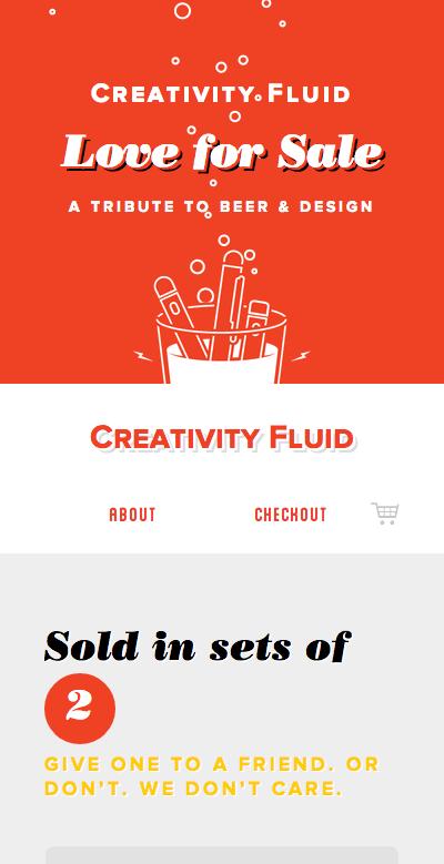 creativity-fluid-ビール-泡-スクロール-レスポンシブWebデザイン_002