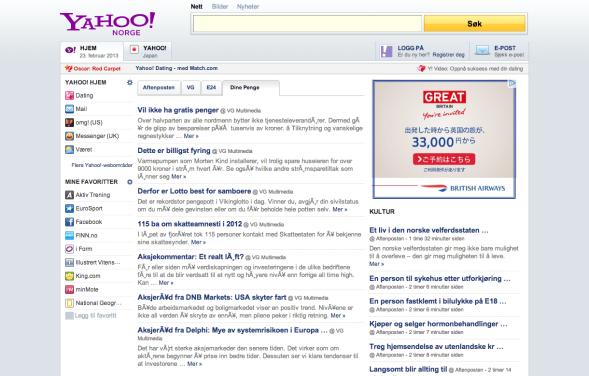 Yahoo_ノルウェー
