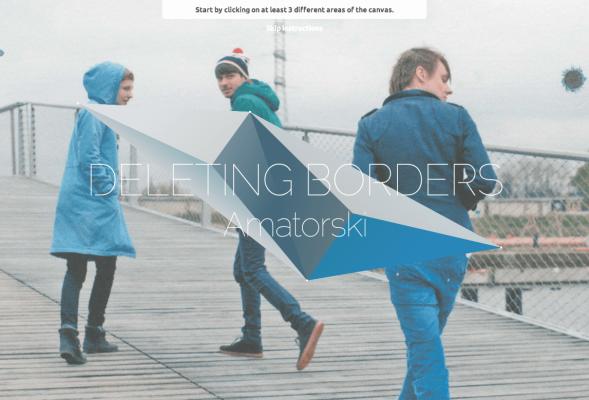 Deleting Borders by Amatorski and We Work We Play