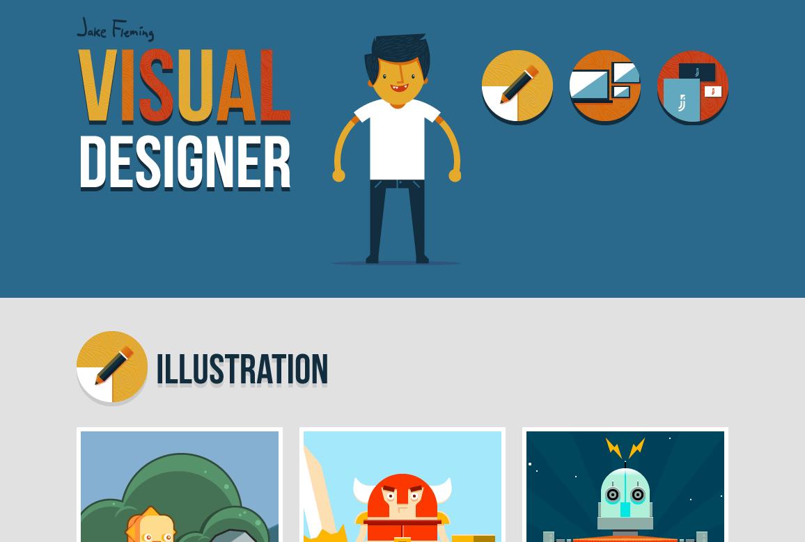 Jake Fleming  Visual Designer